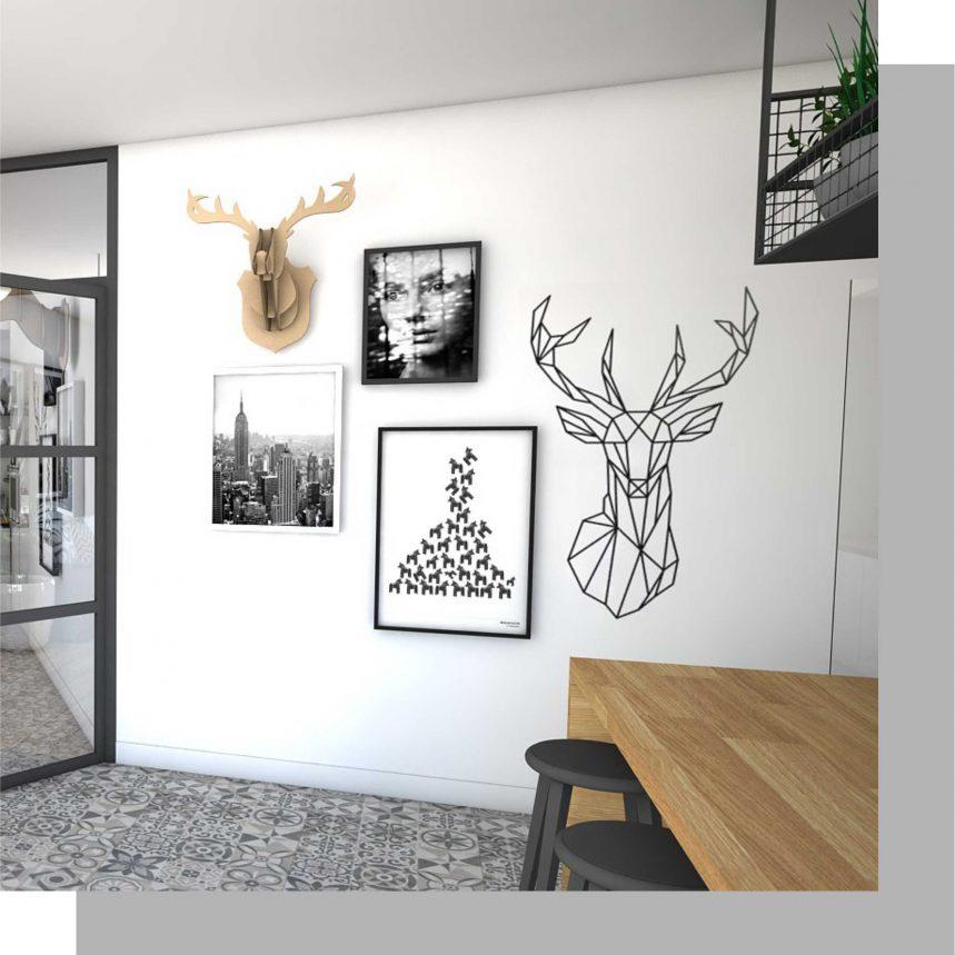 eetkamer muur decoratie
