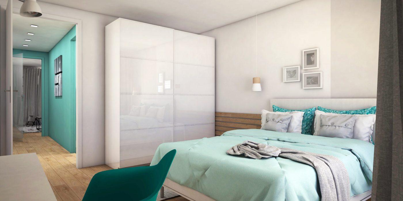 Turquoise appartement in Maastricht - Studio em