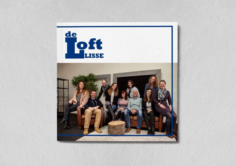 Brochure de Loft Lisse kaft