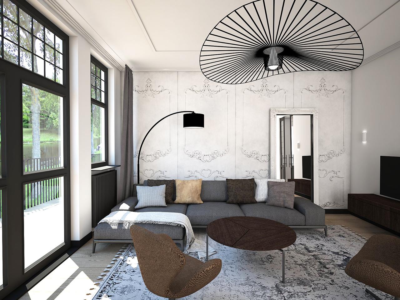 Modern Klassieke Inrichting. I Love The Serenity And Simplicity In ...